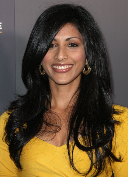 More Pics of Reshma Shetty Long Side Part (1 of 5) - Reshma Shetty Lookbook - StyleBistro