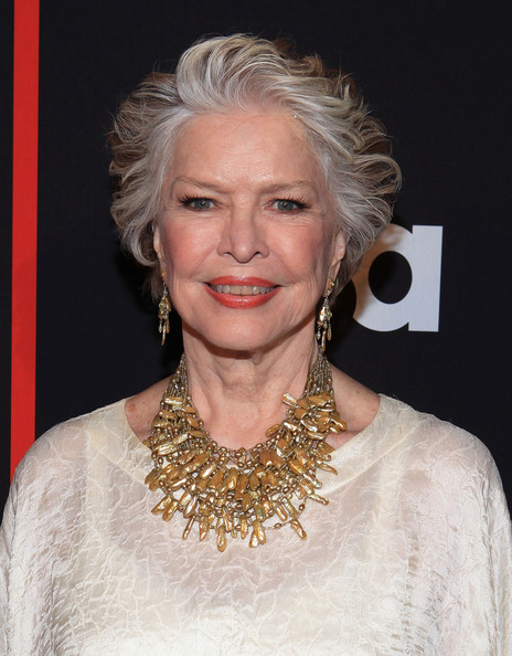 Ellen Burstyn looked stylish with her layered razor cut at the New York screening of 'Political Animals.'