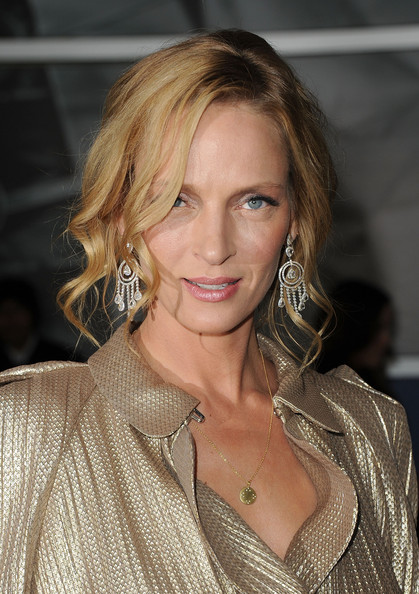 uma thurman hairstyles : Pics of Uma Thurman Long Braided Hairstyle (16 of 52) - Uma Thurman ...