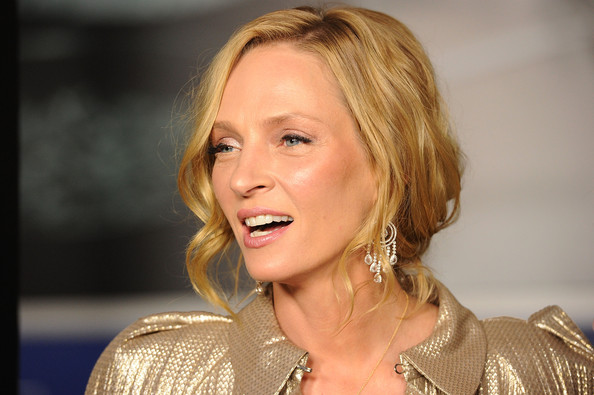 uma thurman hairstyles : Uma Thurman Long Hairstyles Long Braided Hairstyle WGhtlOjELW6l jpg