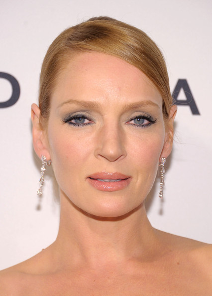 Uma Thurman Smoky Eyes