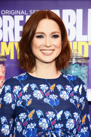 Ellie Kemper wore cute short waves at the 'Unbreakable Kimmy Schmidt' season 2 world premiere.
