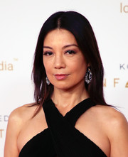 Ming-Na Wen looked simply elegant with her straight center-parted 'do at the Unforgettable Gala 2018.