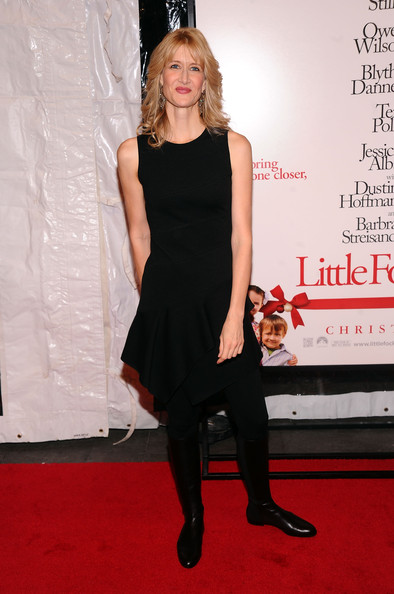 More Pics of Laura Dern Flat Boots (1 of 5) - Laura Dern Lookbook - StyleBistro