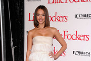 Actress Jessica Alba attends the world premiere of