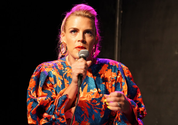 More Pics of Busy Philipps Evening Pumps (1 of 11) - Busy Philipps Lookbook - StyleBistro [performance,entertainment,music artist,singing,performing arts,music,singer,event,performance art,song,unbreakable kimmy schmidt,busy philipps,fyc @ ucb,panel,california,los angeles,ucb sunset theater,universal television,fyc]