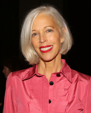 Linda Fargo opted for a classic bob when she attended the Urban Zen presentation.