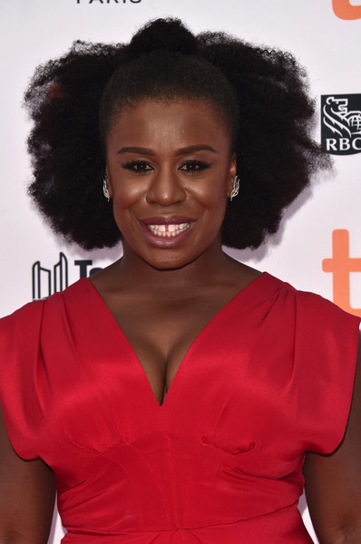 Uzo Aduba Half Up Half Down