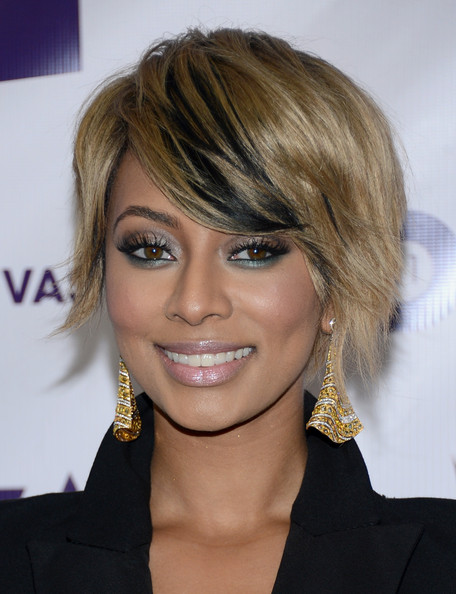 More Pics of Keri Hilson Short Side Part (3 of 20) - Short Hairstyles Lookbook - StyleBistro