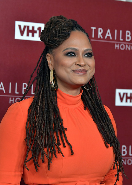 More Pics of Ava DuVernay Evening Dress (1 of 8) - Dresses & Skirts Lookbook - StyleBistro [hair,hairstyle,dreadlocks,premiere,ringlet,long hair,carpet,black hair,arrivals,ava duvernay,trailblazer honors,vh1 trailblazer honors,the wilshire ebell theatre,los angeles,california,vh1]