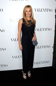 Cat Deeley wore a pair of silver sandals with bow details at the Valentino flagship store opening on Rodeo Drive.