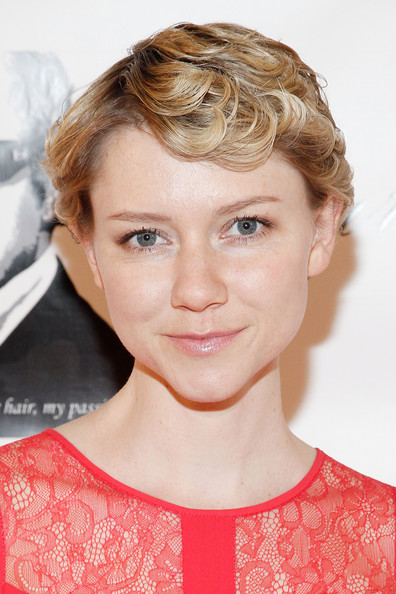 Valorie Curry Short Curls [valorie curry,hair,face,hairstyle,blond,eyebrow,chin,lip,beauty,cheek,forehead,grand opening,christo fifth avenue grand opening,christo fifth ave,new york city]