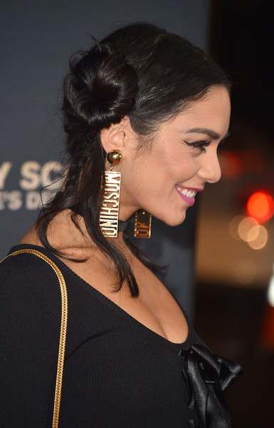 Vanessa Hudgens Gold Dangle Earrings