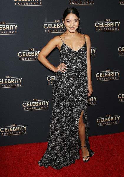 Vanessa Hudgens Print Dress