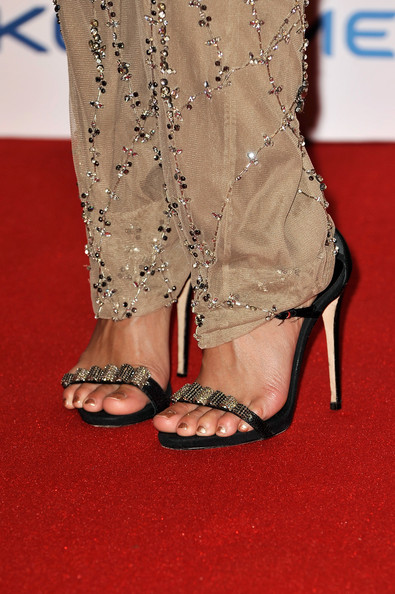Vanessa Hudgens Evening Sandals