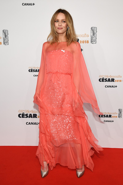 Vanessa Paradis Sequin Dress