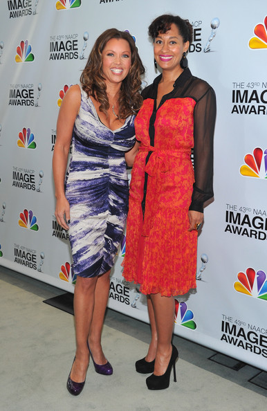 Actors Vanessa Williams and Tracee Ellis Ross attend the 43rd NAACP Image ...