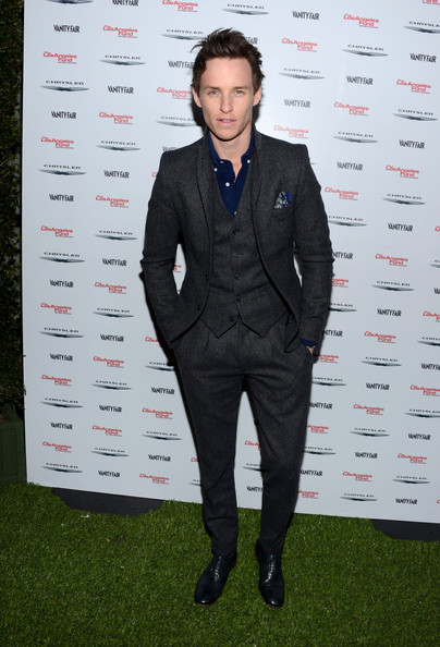 More Pics of Eddie Redmayne Men's Suit (1 of 3) - Eddie Redmayne Lookbook - StyleBistro