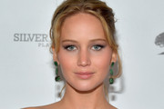 Actress Jennifer Lawrence attends the Vanity Fair, Barneys New York and The Weinstein Company celebration of