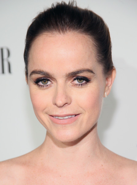 Taryn Manning kept it simple with this basic bun at the Fiat Young Hollywood celebration.