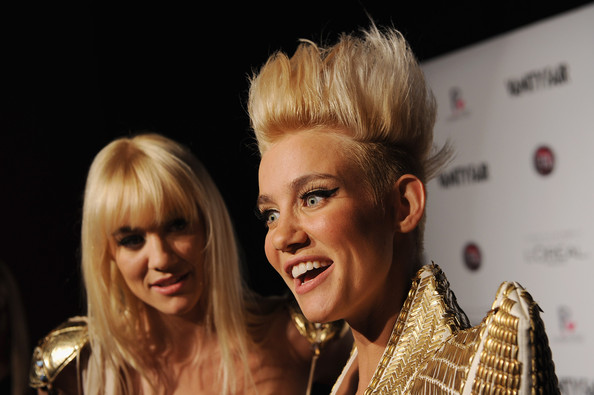 More Pics of Mim Nervo Spiked Hair (1 of 17) - Mim Nervo Lookbook - StyleBistro