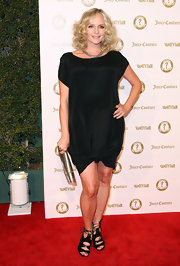 Marley Shelton wore this black sheath dress with a knotted hem to the Vanity Fair anniversary party.