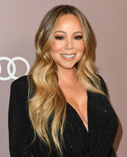 Mariah Carey wore her hair in flowing waves at the 2019 Variety Power of Women: Los Angeles.