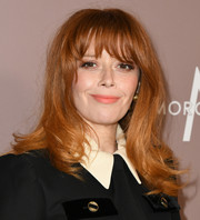 Natasha Lyonne sported a stylish wavy 'do with wispy bangs at the 2019 Variety Power of Women: Los Angeles.