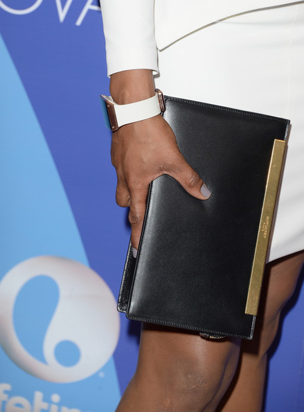 More Pics of Jennifer Hudson Leather Clutch (5 of 17) - Leather Clutch Lookbook - StyleBistro