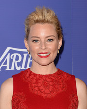 Elizabeth Banks looked uber cool with her messy-glam pompadour at the Variety Power of Women event.