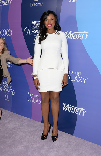 More Pics of Jennifer Hudson Leather Clutch (1 of 17) - Jennifer Hudson Lookbook - StyleBistro