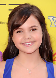 Bailee Madison wore her locks down with side-swept bangs at the Power of Youth event.