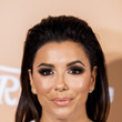 Eva Longoria's Simple Slicked-Back Style