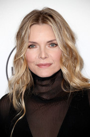 Michelle Pfeiffer wore her hair down in piecey waves during Variety's Power of Women event.
