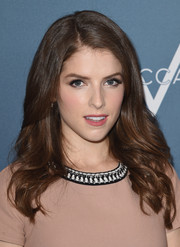 Anna Kendrick looked lovely with her feathered waves during Variety's Power of Women luncheon.