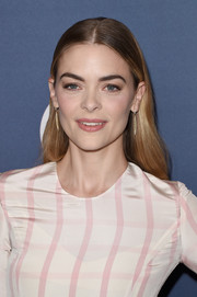 Jaime King opted for a simple center-parted style when she attended Variety's Power of Women luncheon.