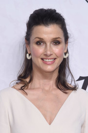 Bridget Moynahan wore her hair in a casual half-up style at Variety's Power of Women: New York.