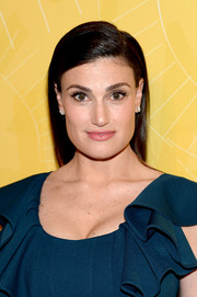 Idina Menzel opted for simple styling with this straight side-parted 'do when she attended the Variety Power of Women event.