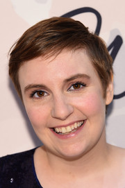 Lena Dunham wore a casual and cute pixie at the Variety Power of Women event.