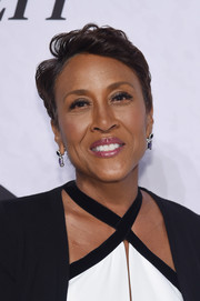 Robin Roberts wore her short hair in a tousled style when she attended Variety's Power of Women: New York.
