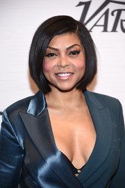 Taraji P. Henson wore her hair in a perfectly cute bob at Variety's Power of Women: New York.