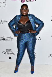 It was all about (flower) power dressing for Danielle Brooks when she wore this printed pantsuit by Eloquii to the Variety Power of Women event.