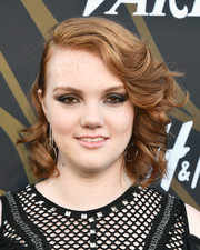 Shannon Purser looked lovely with her half-pinned curls at the Variety Power of Young Hollywood event.