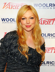 Laura Prepon wore her bright strawberry-blond hair in long layered waves during the 2012 Sundance Film Festival.
