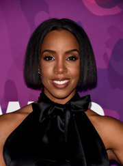 Kelly Rowland topped off her look with a sleek center-parted bob when she attended the StyleMakers Awards.
