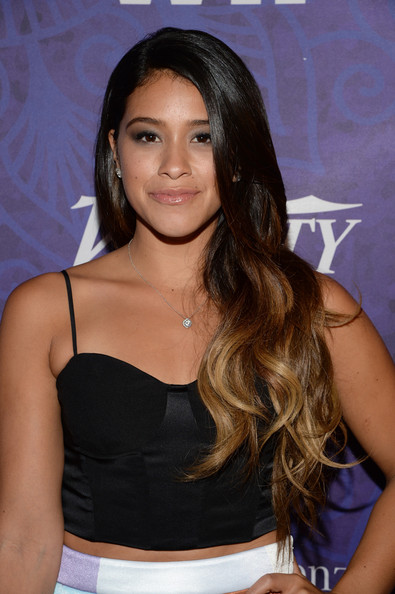 More Pics of Gina Rodriguez Leather Clutch (1 of 5) - Gina Rodriguez Lookbook - StyleBistro [variety and women in film emmy nominee celebration,hair,hairstyle,long hair,black hair,brown hair,layered hair,trunk,gina rodriguez,west hollywood,california,variety and women in film emmy nominee celebration,samsung galaxy,red carpet]