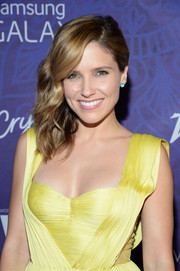 Sophia Bush styled her locks in a wavy side sweep for the Variety and Women in Film Emmy nominee celebration.