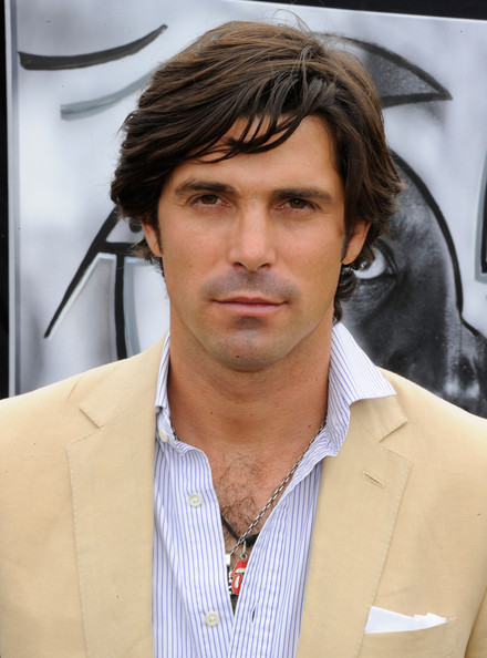 Nacho Figueras sported a mussed-up 'do at the Veuve Clicquot Polo Classic.