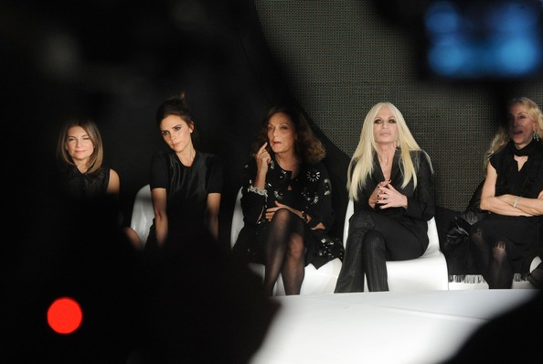 International Woolmark Prize Grand Final - Front Row - LFW F/W 2013