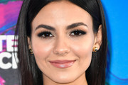 Victoria Justice Gold Studs